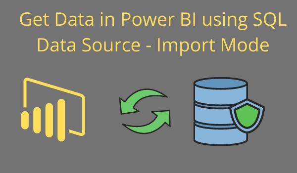 import mode power-Bi