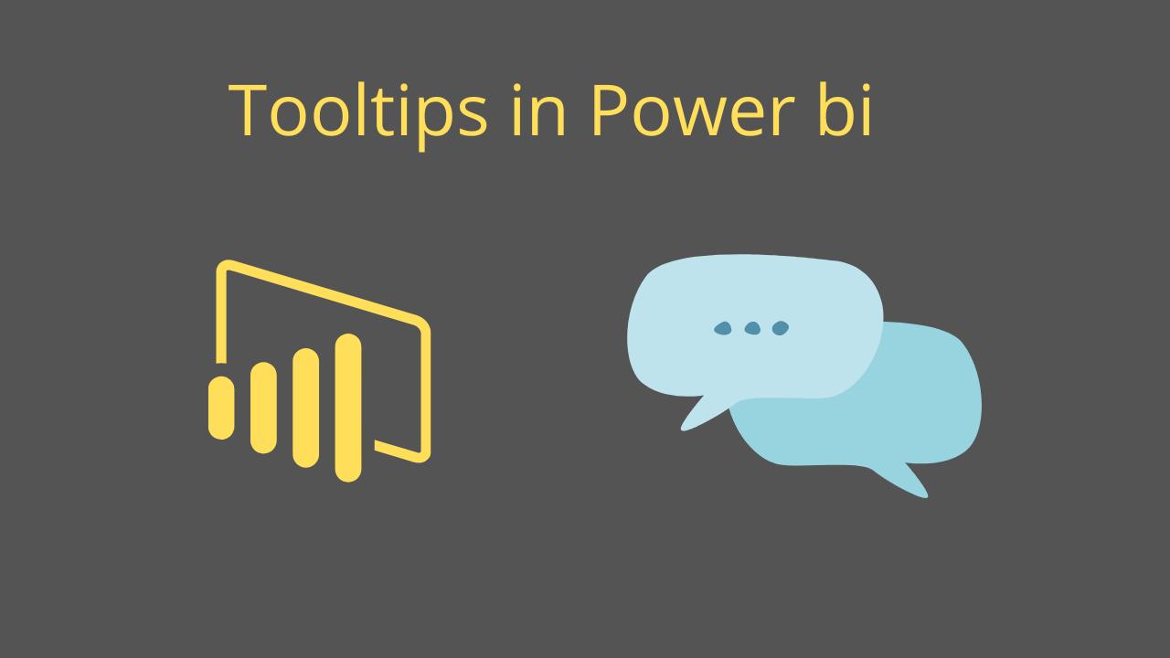 Tooltips in Power bi