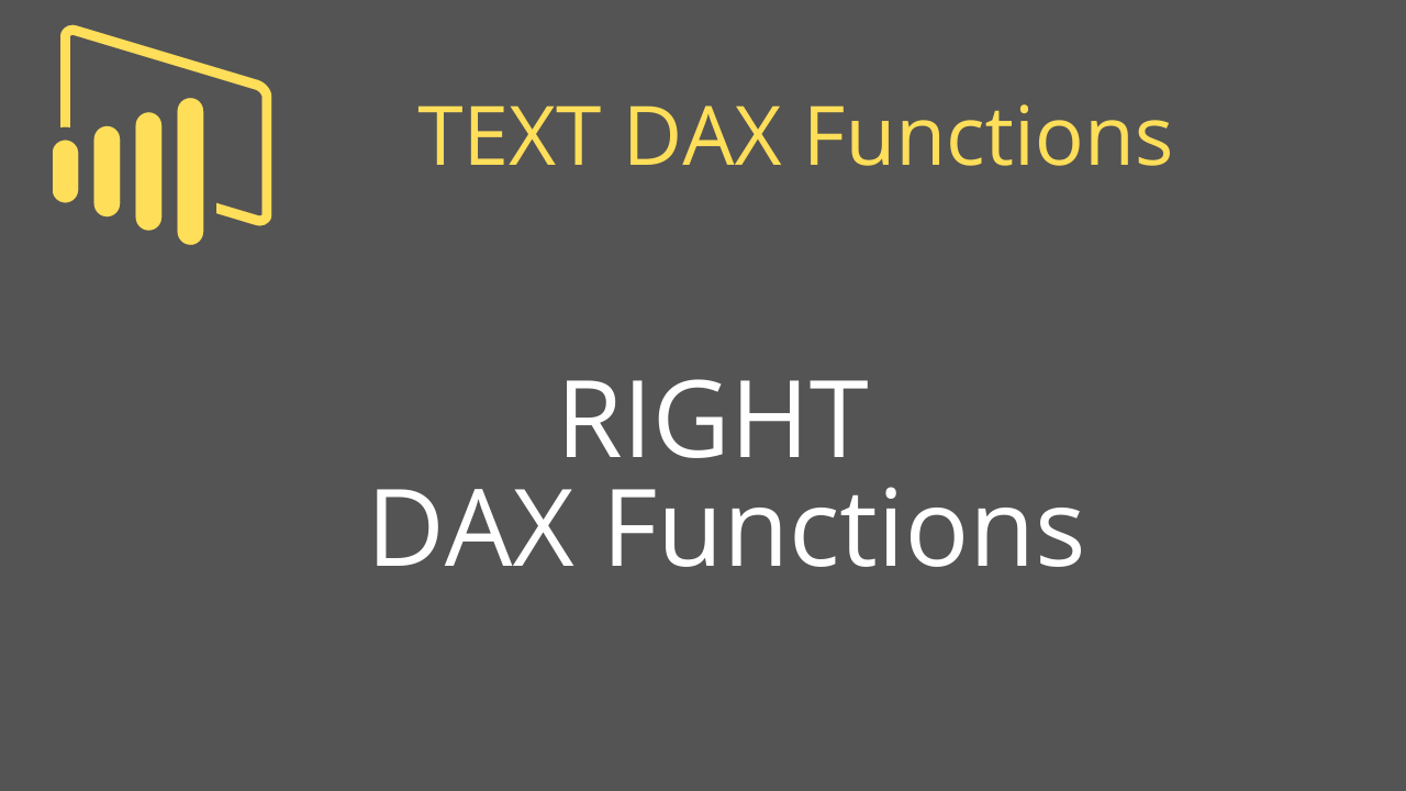 RIGHT DAX Functions
