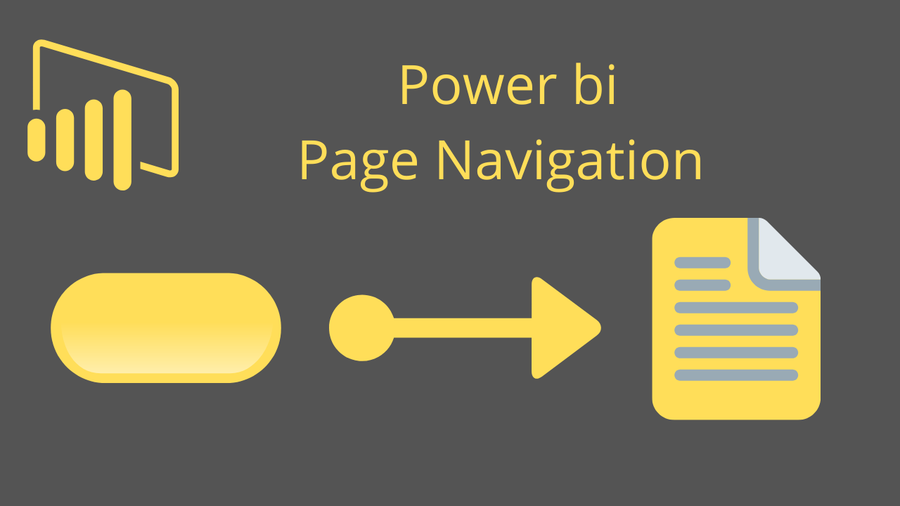 Power bi Page Navigation
