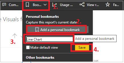 Bookmark Personalize visual