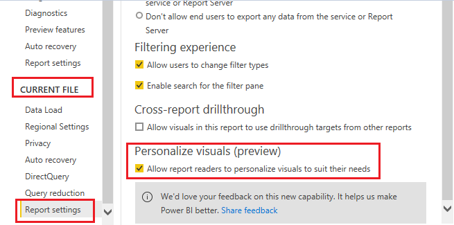 Enable Personalize Visual-3