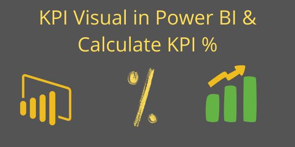 KPI percentage Banner