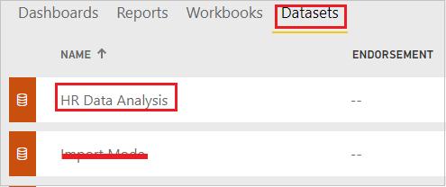 Report Dataset on cloud