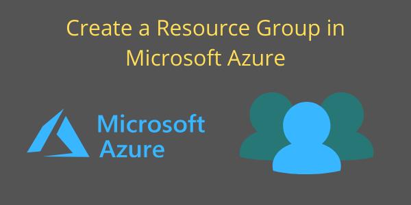 Resource groups banner