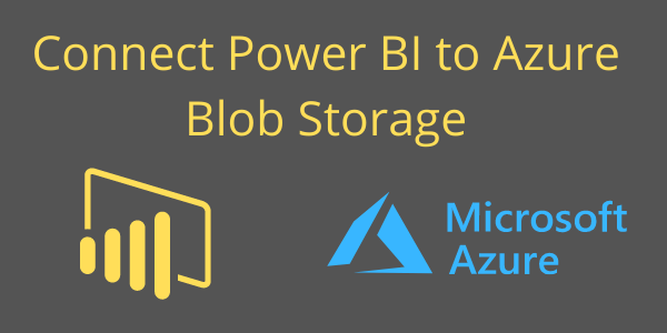Connect Power BI to azure banner