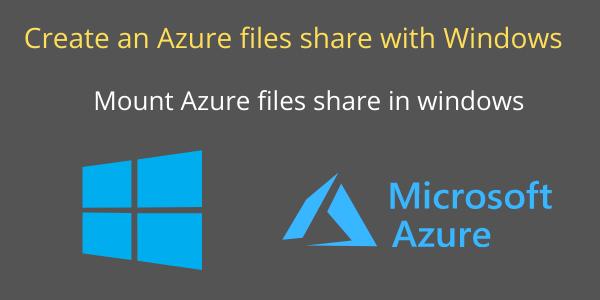mount azure-files