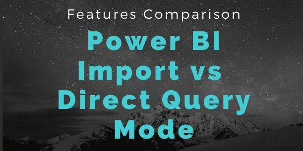 Import vs Direct Mode Comparison