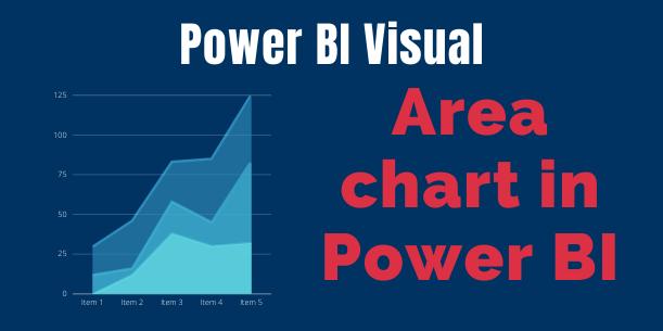 Area chart in Power BI