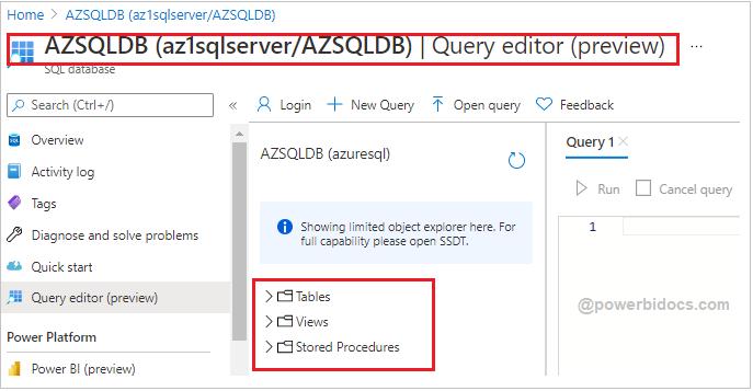 SQL server window