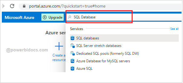 Search SQL Database