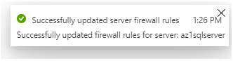 firewall update the rules