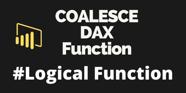 COALESCE DAX
