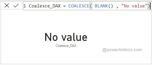 Coalesce DAX Result -1